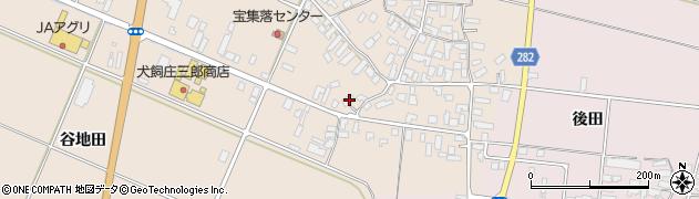 山形県寒河江市西根高畑137周辺の地図