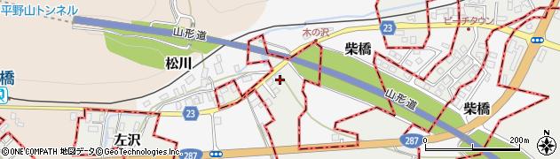 山形県西村山郡大江町左沢2104周辺の地図
