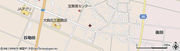 山形県寒河江市西根高畑74周辺の地図