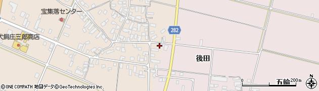山形県寒河江市西根高畑117周辺の地図