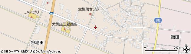 山形県寒河江市西根高畑72周辺の地図