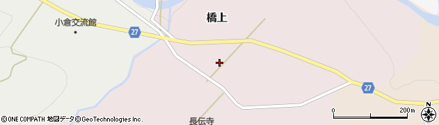 山形県西村山郡大江町橋上101周辺の地図