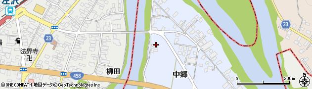 山形県寒河江市中郷1725周辺の地図