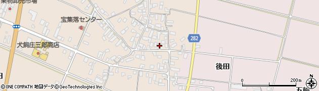 山形県寒河江市西根1754周辺の地図