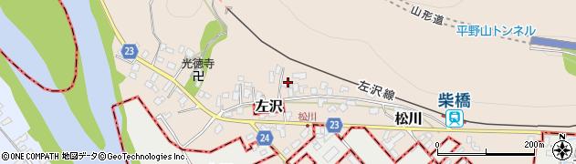山形県寒河江市松川48周辺の地図