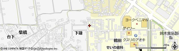 山形県寒河江市寒河江鶴田41周辺の地図