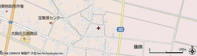 山形県寒河江市西根1741周辺の地図