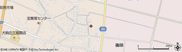 山形県寒河江市西根高畑114周辺の地図
