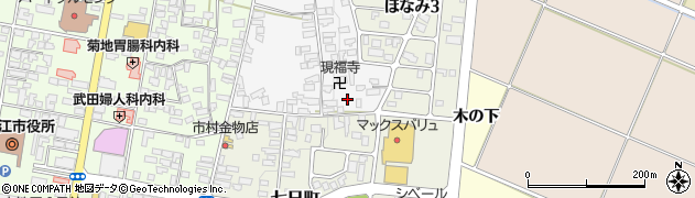大木山神社周辺の地図