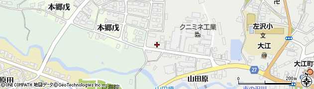 山形県西村山郡大江町本郷己782周辺の地図