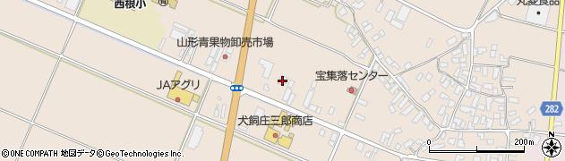 山形県寒河江市西根高畑53周辺の地図