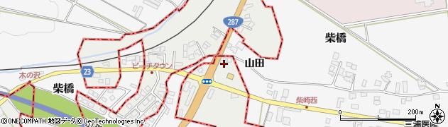 山形県西村山郡大江町左沢2135周辺の地図