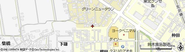 山形県寒河江市緑町103周辺の地図