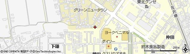 山形県寒河江市緑町138周辺の地図
