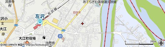 山形県西村山郡大江町左沢桜町周辺の地図