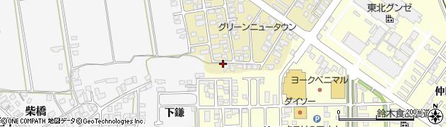 山形県寒河江市緑町99周辺の地図