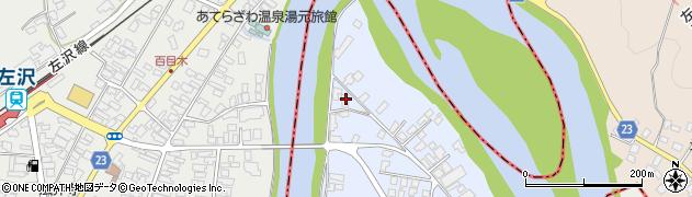 山形県寒河江市中郷1945周辺の地図