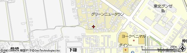山形県寒河江市緑町81周辺の地図