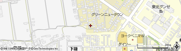 山形県寒河江市緑町66周辺の地図