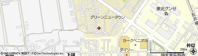 山形県寒河江市緑町95周辺の地図