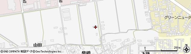 山形県寒河江市柴橋160周辺の地図