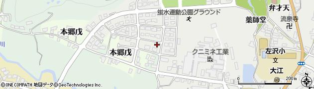 山形県西村山郡大江町本郷己682周辺の地図
