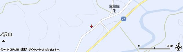 山形県西村山郡大江町月布385周辺の地図