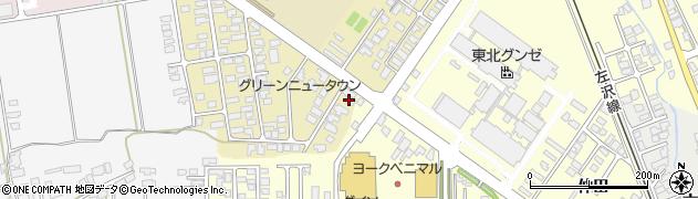 山形県寒河江市緑町131周辺の地図