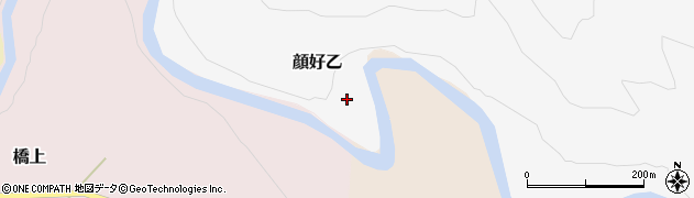 山形県西村山郡大江町顔好乙168周辺の地図