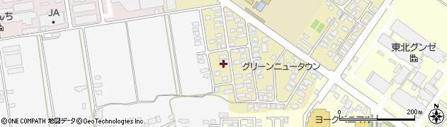 山形県寒河江市緑町55周辺の地図
