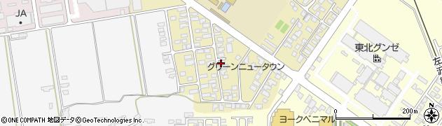 山形県寒河江市緑町90周辺の地図