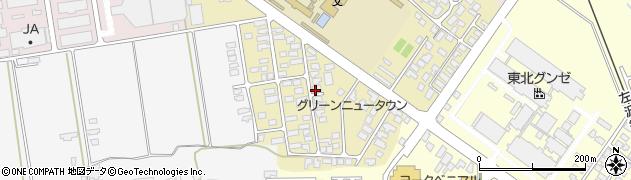 山形県寒河江市緑町89周辺の地図