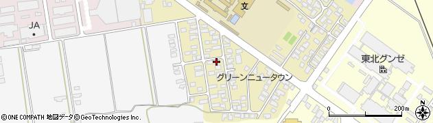 山形県寒河江市緑町73周辺の地図