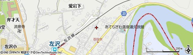山形県西村山郡大江町左沢966周辺の地図