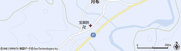 山形県西村山郡大江町月布210周辺の地図