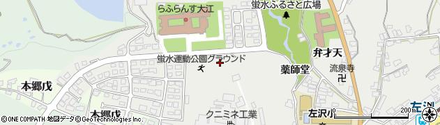 山形県西村山郡大江町左沢797周辺の地図
