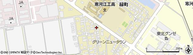 山形県寒河江市緑町85周辺の地図