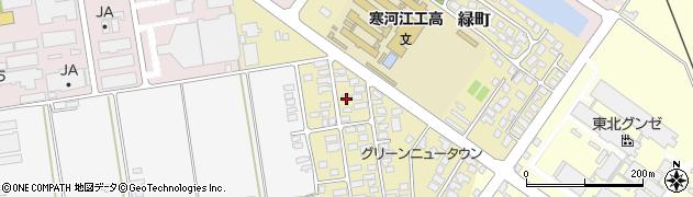 山形県寒河江市緑町50周辺の地図