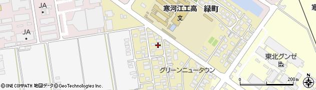 山形県寒河江市緑町70周辺の地図