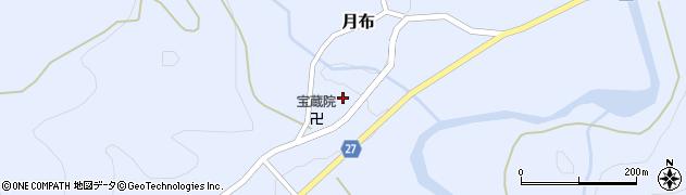 山形県西村山郡大江町月布211周辺の地図