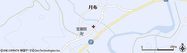 山形県西村山郡大江町月布212周辺の地図