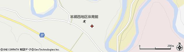 山形県西村山郡大江町十八才甲4周辺の地図