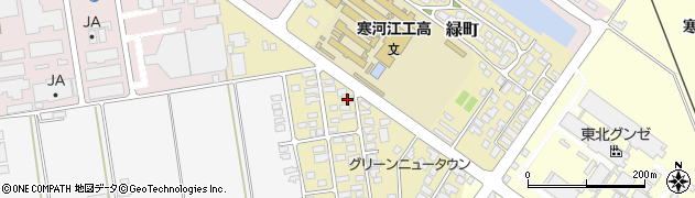 山形県寒河江市緑町69周辺の地図