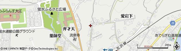 山形県西村山郡大江町左沢1157周辺の地図
