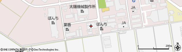 山形県寒河江市中央工業団地16周辺の地図