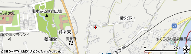 山形県西村山郡大江町左沢1057周辺の地図