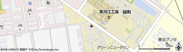 山形県寒河江市緑町47周辺の地図
