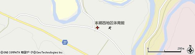 山形県西村山郡大江町十八才甲384周辺の地図