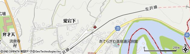 山形県西村山郡大江町左沢81周辺の地図