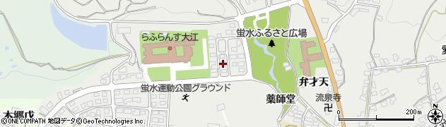 山形県西村山郡大江町左沢3014-2周辺の地図